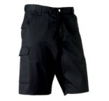 002M.03.28L - Russell•POLY COTTON TWILL SHORTS